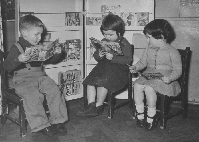 Image result for nursery school 1950s
